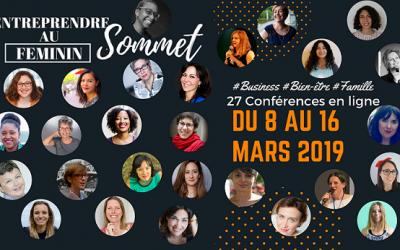 3 raisons : Sommet Entreprendre au Féminin